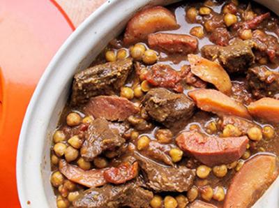 طرز تهیه طاجین گوشت و به مراکشی