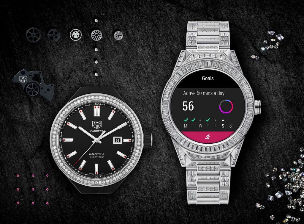 رونمایی از ساعت هوشمند تمام الماس اندرویدی +عکس