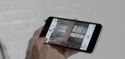 این گوشی تبدیل به متر لیزری می شود +عکس