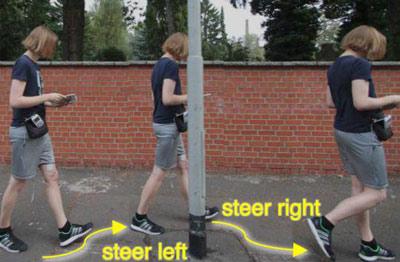 استفاده از  شلوار هوشمند به جای جی پی اس