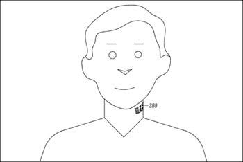 رونمایی از میکروفون با خالکوبی روی گردن