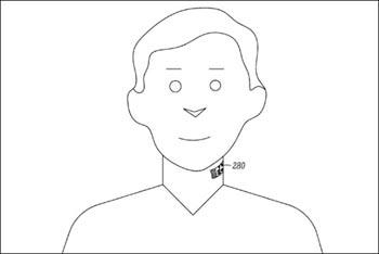 رونمایی از میکروفونی با خالکوبی روی گردن