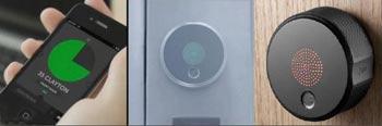 این قفل هوشمندبا تلفن همراه باز میشود