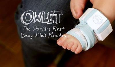 این جوراب هوشمند از نوزادان محافظت می کند