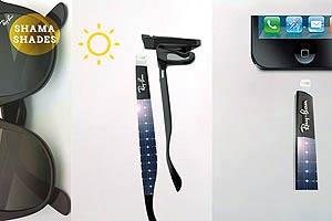 با این اختراع روز عینک بزنید عصر آیفون شارژ کنید