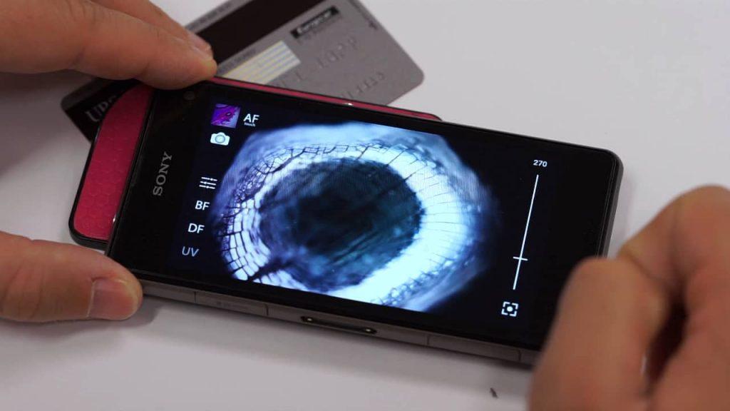 گوشی هوشمند خود را به میکروسکوپ تبدیل کنید