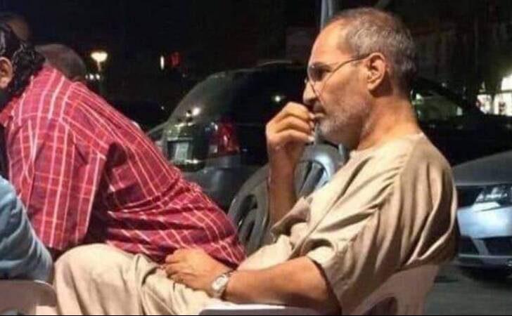 تصویر منتشر شده در مصر از شخصی شبیه استیو جابز