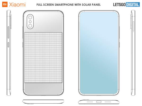 گوشی هوشمند جدید شیائومی با باتری پانل خورشیدی!