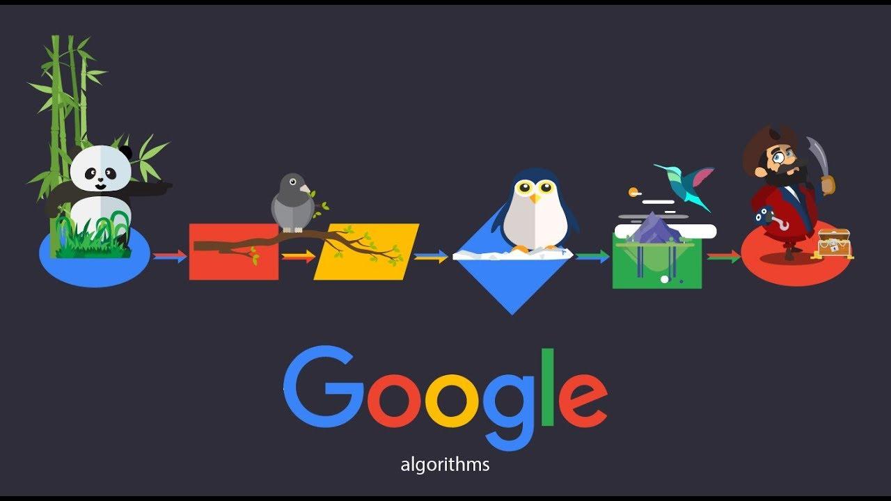 جدیدترین الگوریتم های موتور جستجوی گوگل