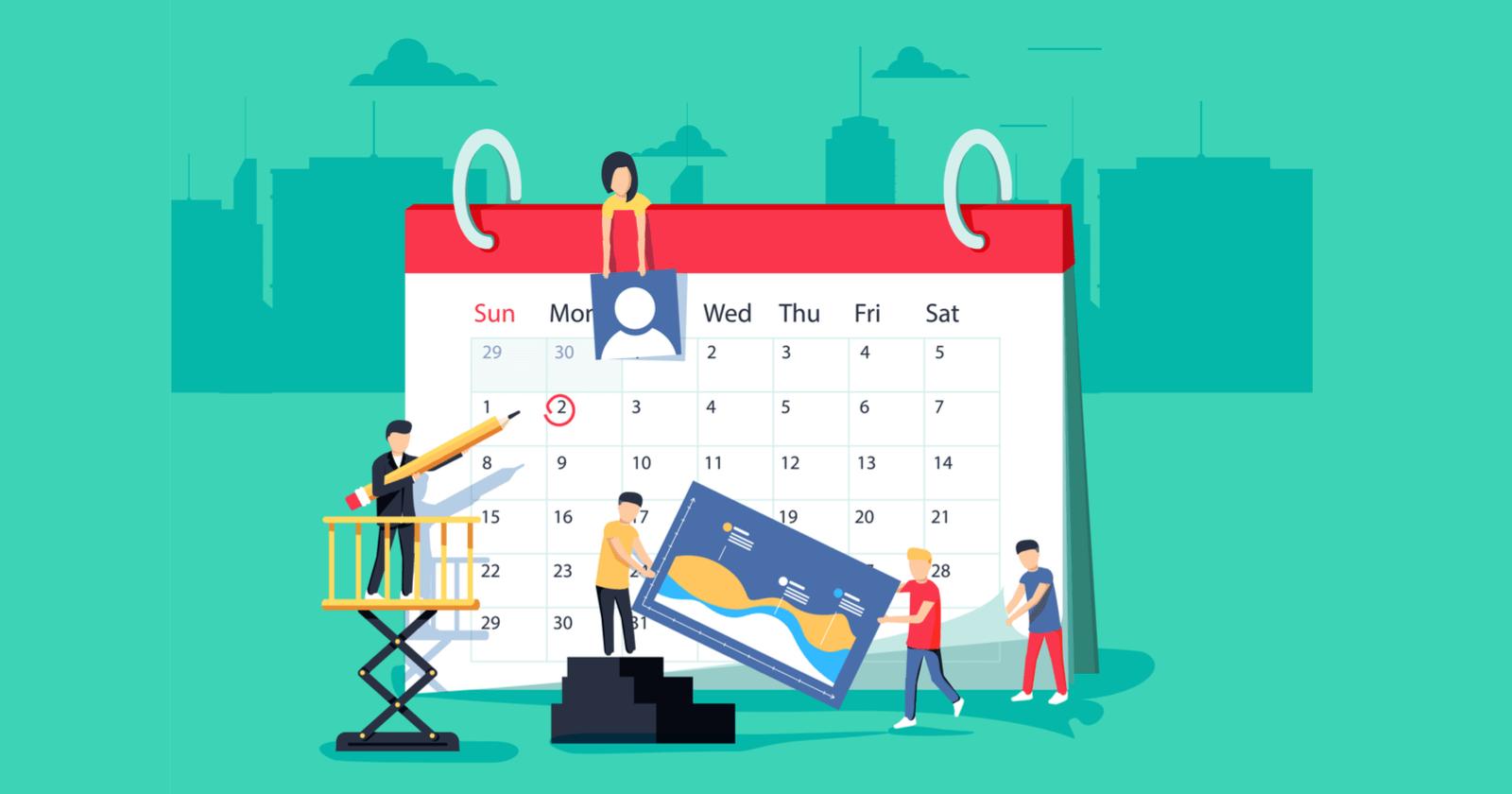 تقویم محتوایی یا تقویم تولید محتوا چیست؟